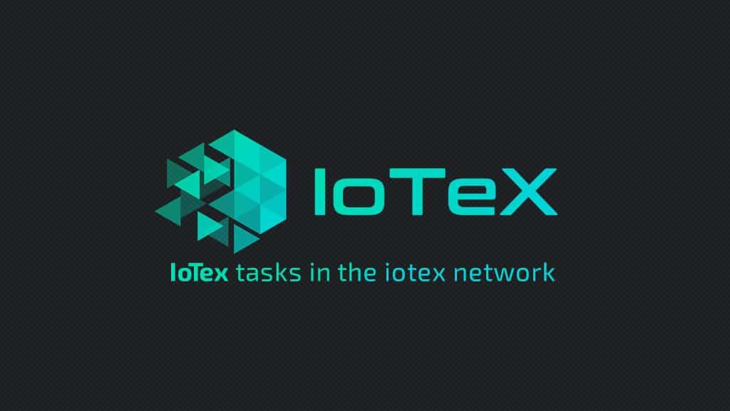 توکن iotx ، وظایف iotex در شبکه iotex