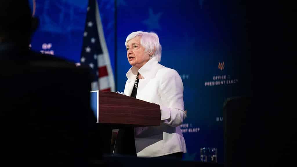 سنای آمریکا، جانت یلن را به عنوان وزیر خزانهداری تایید میکند